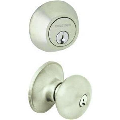 Schlage Knob And Deadbolt Set by Schlage Jc60v Str 619 Security Set Single Cylinder