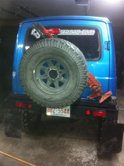 swing out tire carrier parts swing away tire carrier spindle with spare stock parts build
