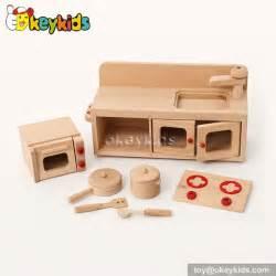 Mini Kitchen Set Woodeen Children Mini Kitchen Set W10c200 China Wooden Kitchen Set Manufacturer