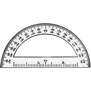 Printable Mini Protractor | c thru mini protractor 3 1 2 quot rulers and measurement