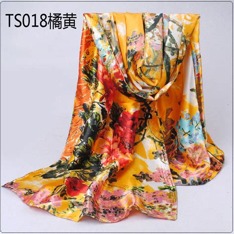 wisteria printed silk scarves wholesale china scarf