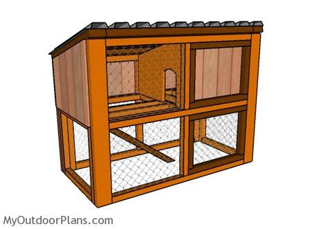 rabbit housing plans rabbit house plans myoutdoorplans free woodworking plans and projects diy shed