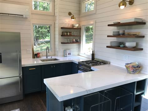 What S In Our New Tiny House Kitchen 100 Days Of Real Food Kitchen Design Small House