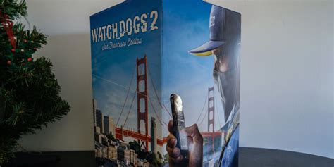 unboxing watch dogs 2 233 dition collector san francisco