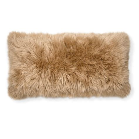 Sheepskin Pillow Covers by Sheepskin Lumbar Pillow Cover Williams Sonoma