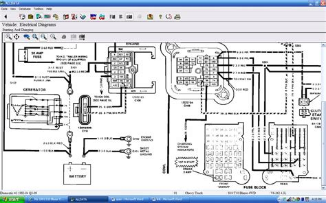 91 chevy s10 wiring diagram wiring diagram and schematics what s the proper way to wire an alternator rod