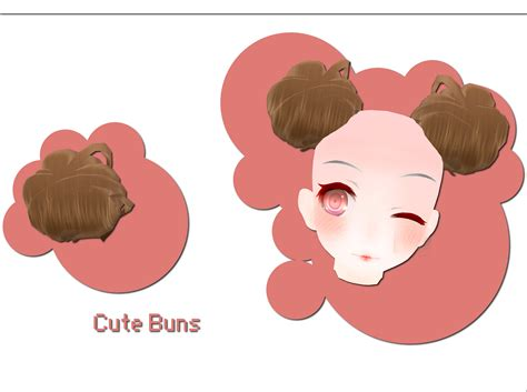 hair bun download cute buns download by xkyarii on deviantart