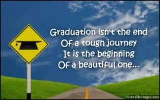 Inspirational graduation congratulations message