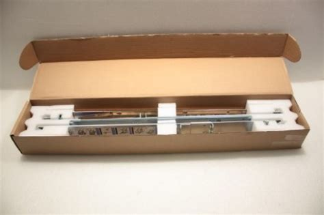 dell poweredge r410 2 4 post 1u static rackmount rail kit c597m