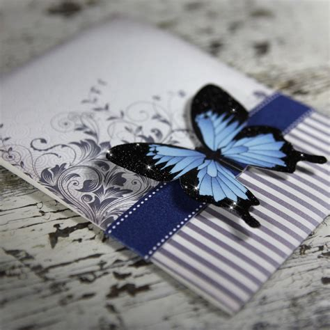 butterfly wedding invitations blue mountain butterfly wedding invitation suite sle