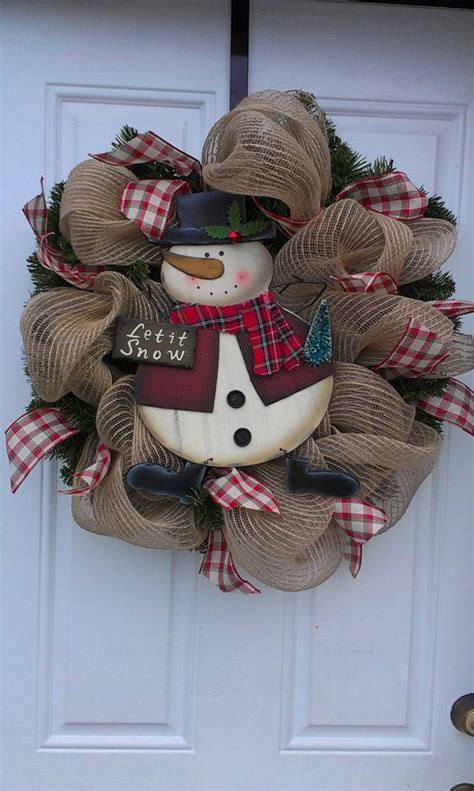 17 best images about snowman wreaths on