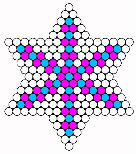 snowflake bead pattern snowflake perler bead pattern bead sprites misc fuse