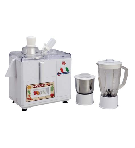 Mixer Signora Or signoracare 500 watts juicer mixer grinder white signoracare