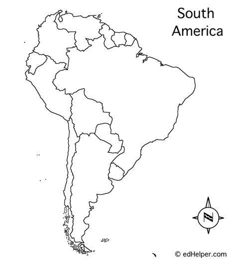 south america physical features map blank south america outline map