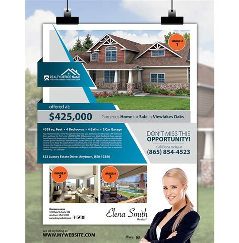 Realtor Flyers Templates by Realtor Flyers Realtor Flyer Er Promo Real