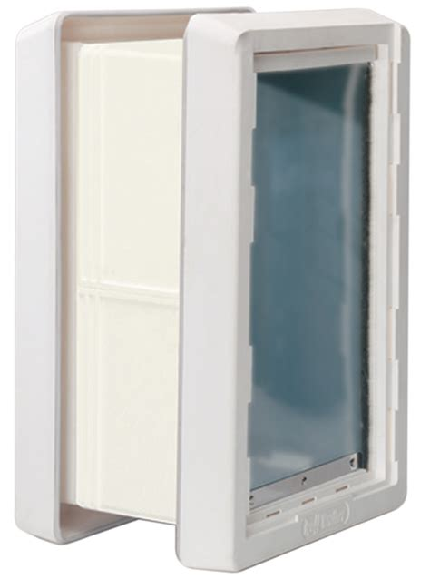 ruff weather door ruff weather pet door small wall mount