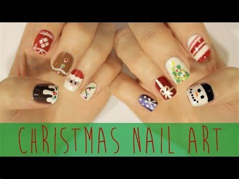 cute simple tuxedo nail art design by cutepolish the nail art for christmas the ultimate guide youtube