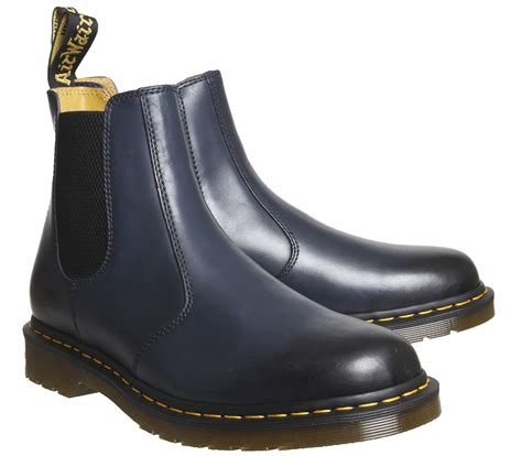 2976 Chelsea Leather Boots dr martens 2976 chelsea boots navy leather boots