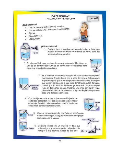 manual de experimento de ciencias para primaria manual de experimentos primaria la ciencia puede ser