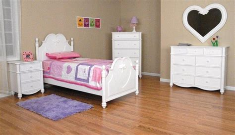 white heart bedroom furniture children s bedroom set traditional wood twin bed group
