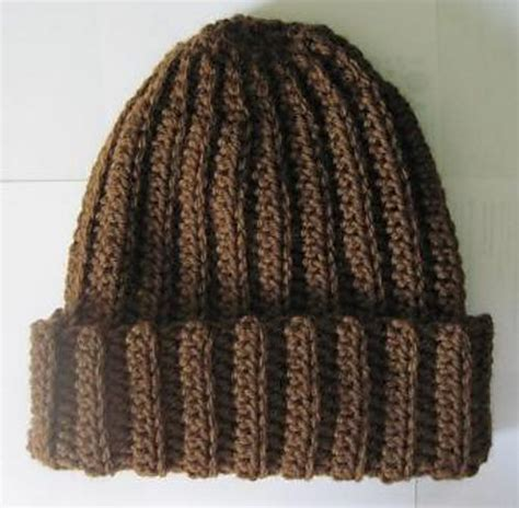 pattern crochet ribbed hat basic crochet ribbed hat free pattern crochet scarves