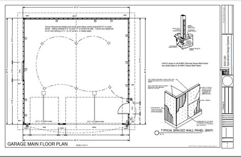 16 X 30 Garage Plans by G234 30 X 30 Garage Cabin Plans