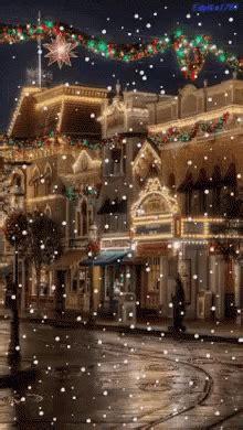snow christmas scenes gifs tenor