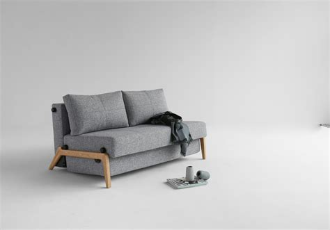 Cubed Sofa Bed by Cubed 140 Wood Sofa Bed Innovation Living Melbourne