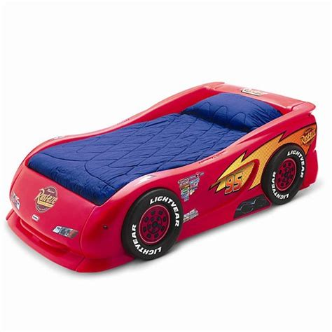 car bed twin mcqueen cars twin race car bed new disney kids bedroom ebay