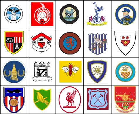 epl quiz questions and answers click the vintage premier league logos quiz by noldeh