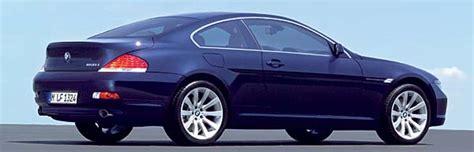 Zulassungszahlen Bmw 1er Coupe by Bmw Modelljahr 2006 Bmw 6er Coup 233 Und Cabriolet Mit