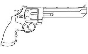 gun coloring pages gun coloring pages