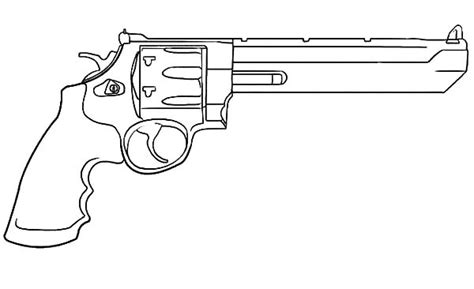 Coloring Page Gun gun coloring pages
