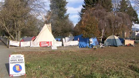 showdown brewing over abbotsford homeless protest c