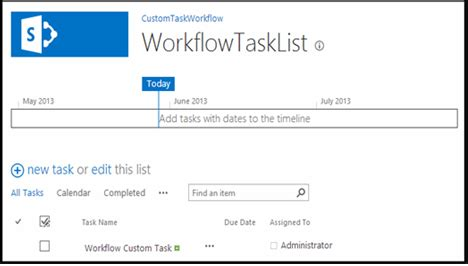 sharepoint workflow tasks working with tasks in sharepoint workflows using visual