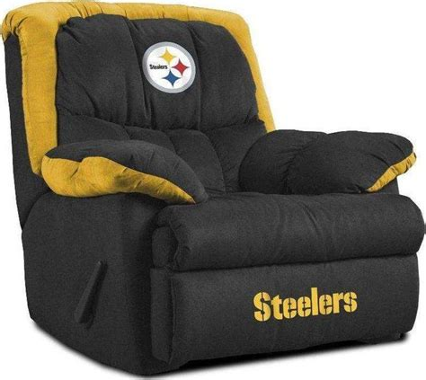 steelers bedroom set pittsburgh steelers bedroom set pittsburgh steelers home team recliner football stuff