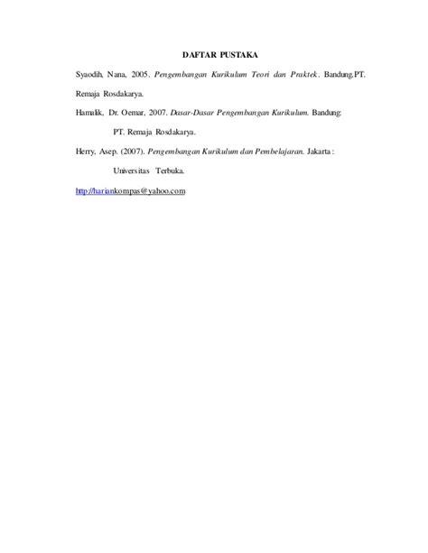 Pengembangan Kurikulum Teori Dan Praktek Nana Syaodih S prinsip kurikulum