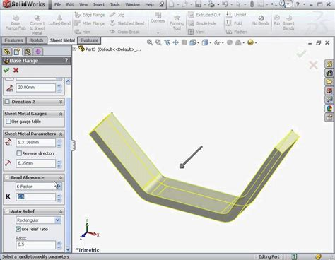 tutorial of solidworks pdf solidworks sheet metal tutorial pdf 2012