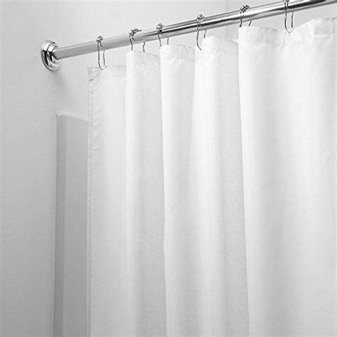 extra long fabric shower curtain liner 96 1000 ideas about long shower curtains on pinterest