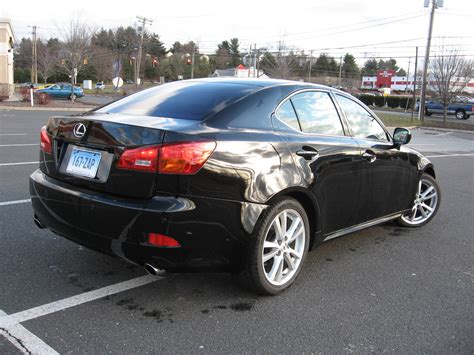 Gallery For Gt Lexus Is250 2006 Black