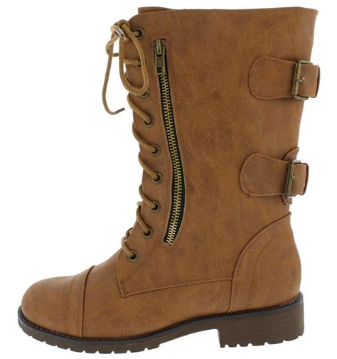 lace up moto lug12n tan lace up buckle rugged moto boots from 12 88