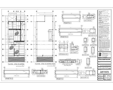 proyecto de casa proyecto ejecutivo casa habitacion planos arquitectonicos