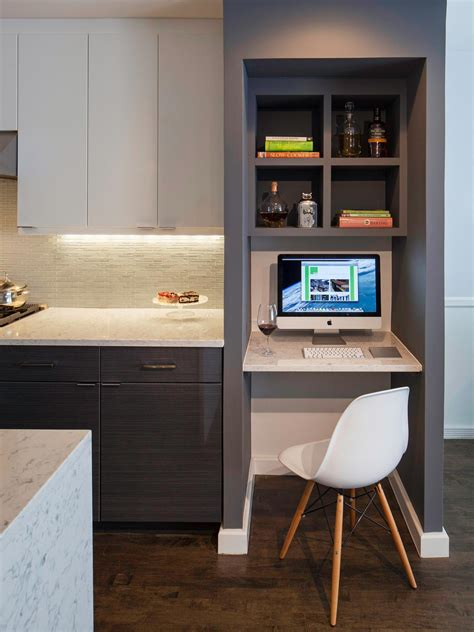 Small Built In Desk Best Kitchen 2014 Hgtv