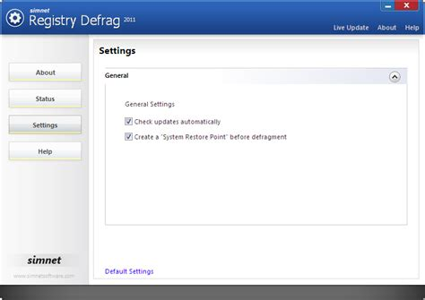 registry defrag simnet registry defrag screenshots