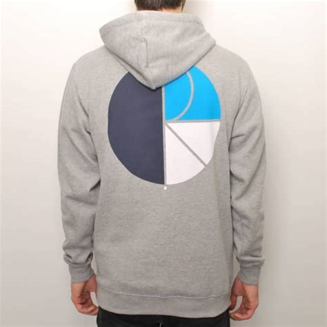 Hoodie Polar Logo Leo Clothing polar skateboards polar fill logo pullover hoodie grey hooded tops from skate