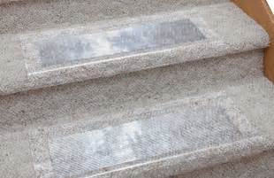 Stair Treads For Carpeted Steps by Plastic Stair Runners For Carpet Protector Home Interior