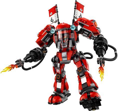 film robot ninjago 70615 fire mech brick fanatics