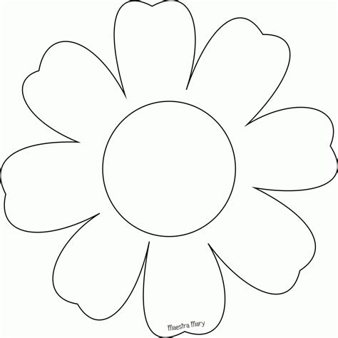 sagome da ritagliare fiori fiori da colorare e ritagliare