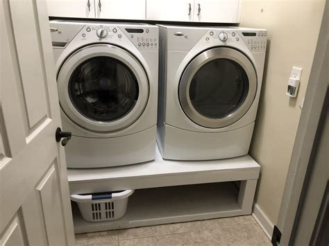 ana white laundry room pedestal diy projects