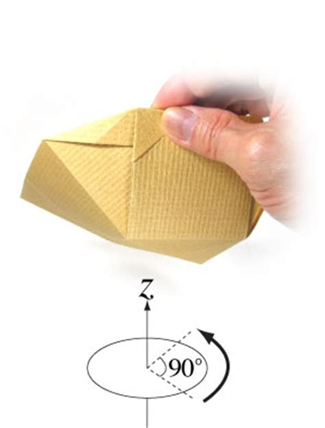 Simple Origami Bowl - how to make a simple origami bowl page 9